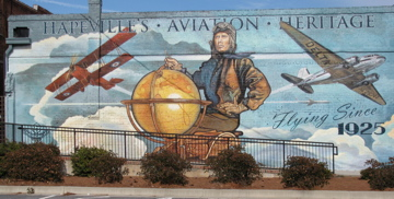Hapeville Aviation Heritage Mural, Artist Shannon Lake