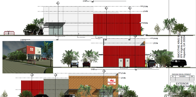 Smoothie King Rendering