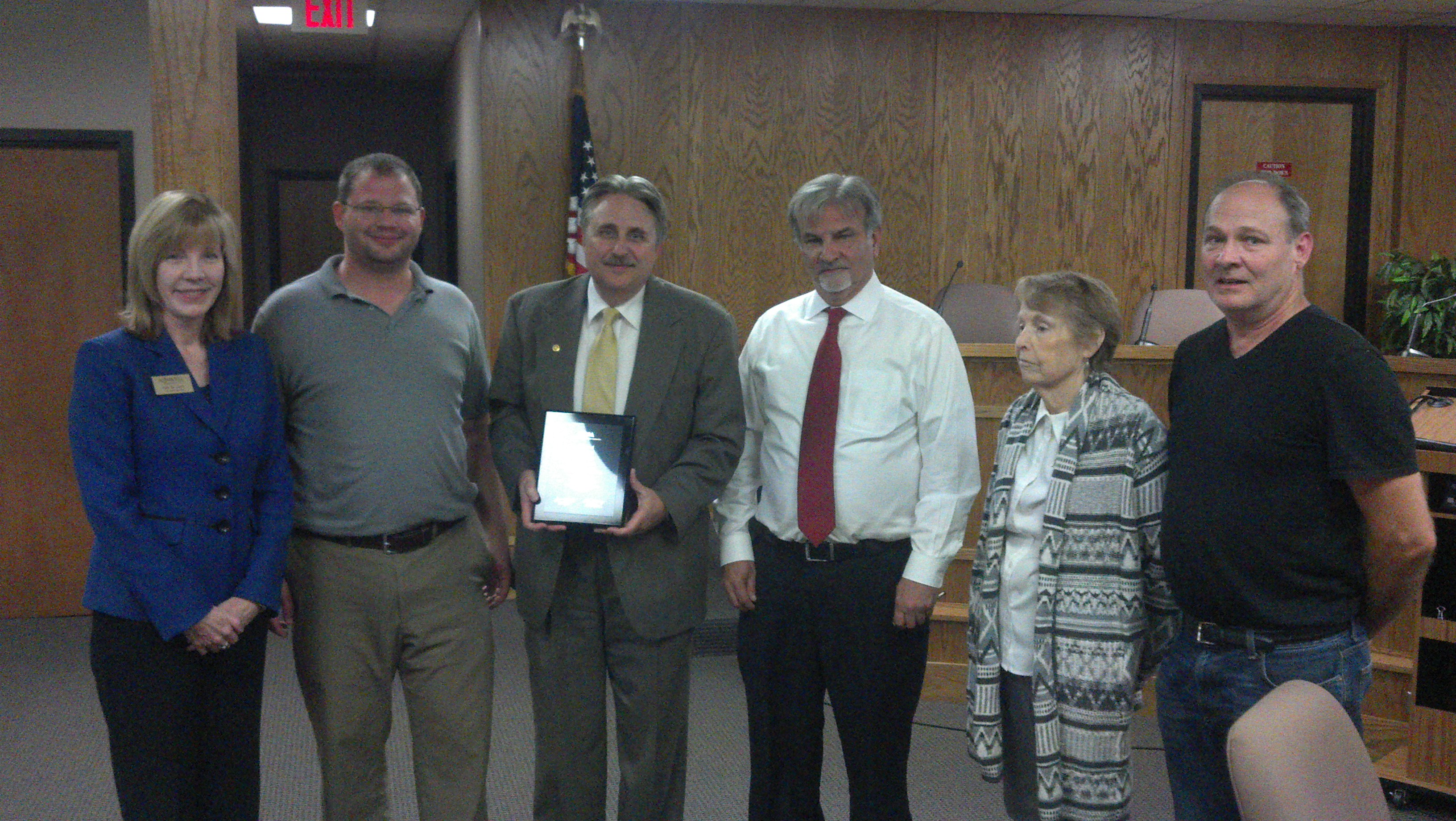 City Manager ICMA Award with Mayor and Council.jpg