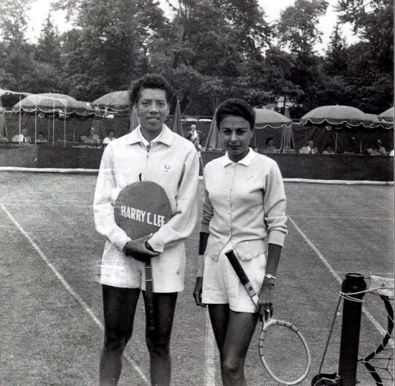 Althea Gibson with Millicent Miller.jpg